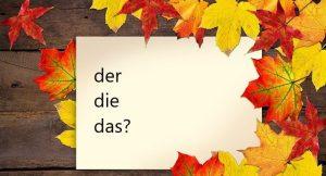 Lekcja 4. Niemieckie rodzajniki.  Przeczytaj i zrób ćwiczenie interaktywne.